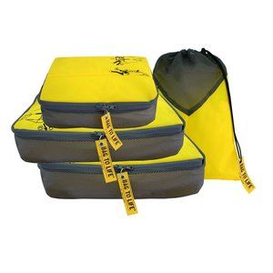Easy Packing Set - Laundry Case Set, made from upcycled aircraft life jackets